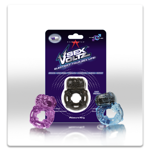 SexVoltz™ - Vibrating Pleasure Ring