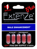 ExtenZe™ Plus - 5ct Pack - Single Unit