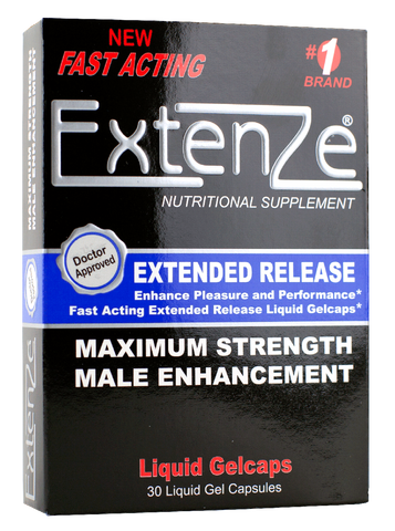 Extenze™ 30ct Box Extended Release Male Enhancement Gelcap
