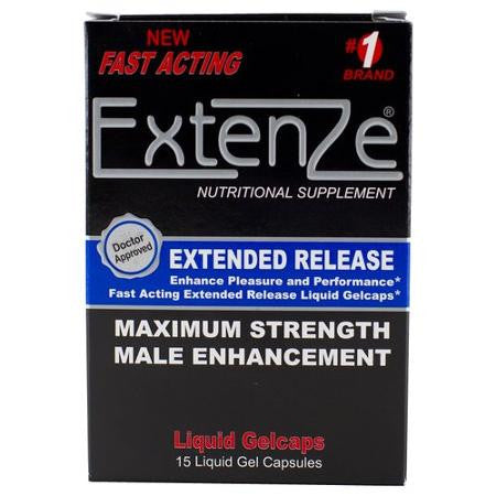 Extenze™15ct Box Extended Release Male Enhancement Gelcap