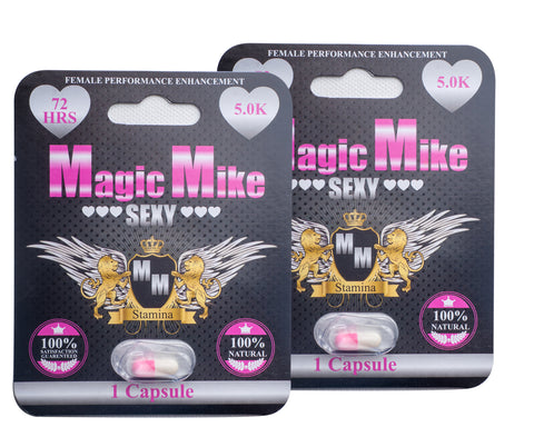 Magic Mike **SEXY** 5.0mg 1 Cap Pk FEMALE Sexual Enhancement BOGO FREE