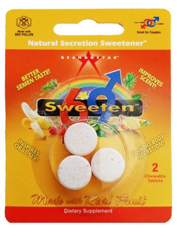 Sweeten69 - 2 Tab Pack All-Natural  Secretion Sweetener **w/ 1 FREE TABLET**