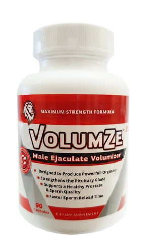VolumZe 90ct Bottle - Male Ejaculate Volumize - Maximum Strenth Formula