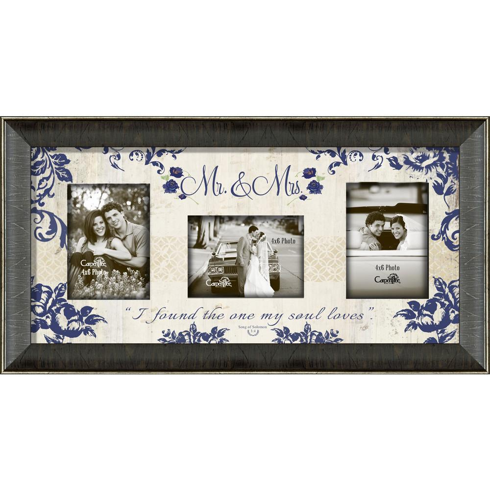 Photo Frame - Mr. & Mrs. Framed Photo Collage - Love the Lord Inc