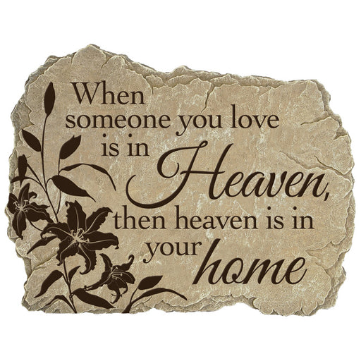 Garden Stone - Heaven Home - Love the Lord Inc