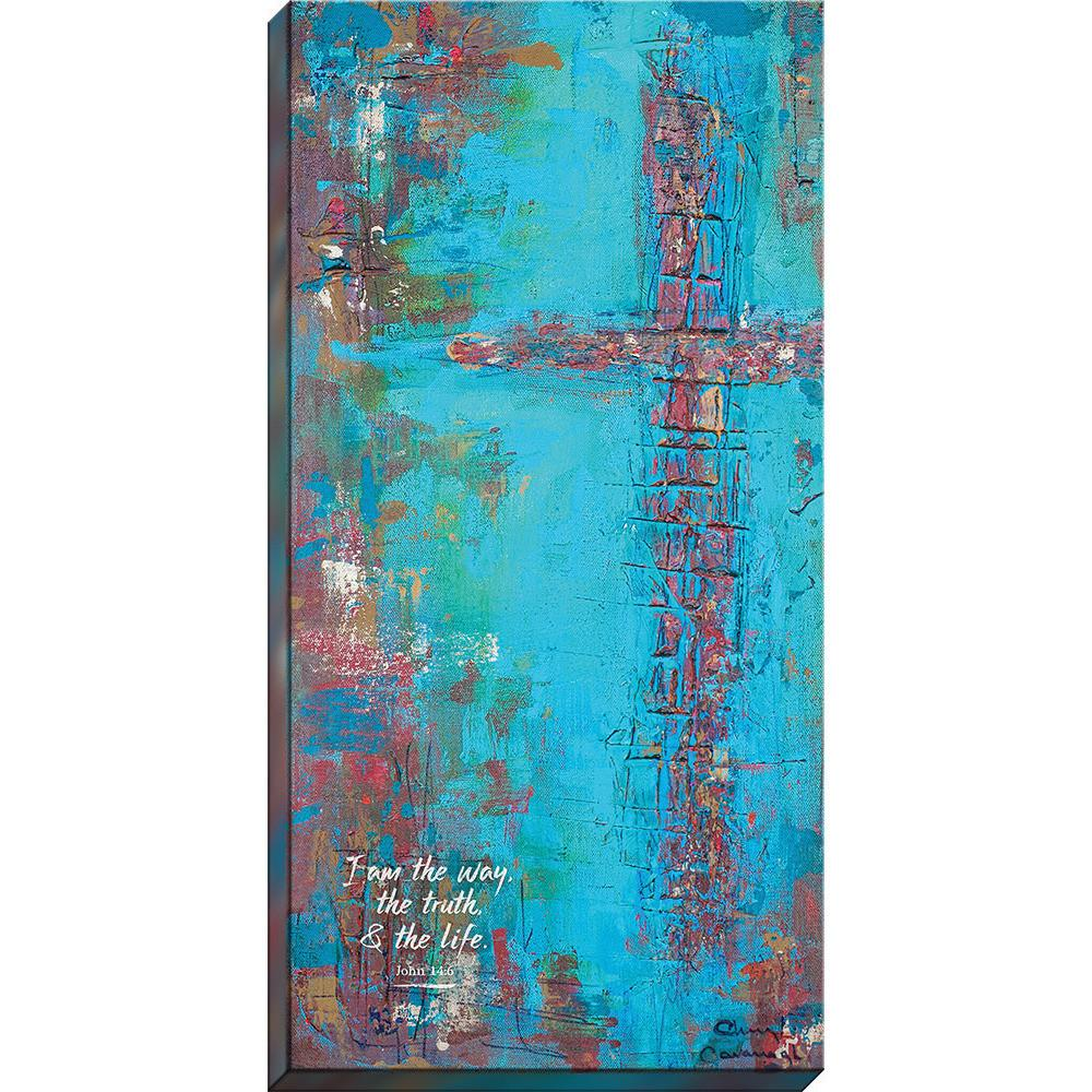 """""""I am the way, the truth & the life."""" - Canvas Print - Love the Lord Inc"""
