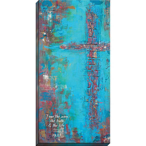 """I am the way, the truth & the life."" - Canvas Print - Love the Lord Inc"