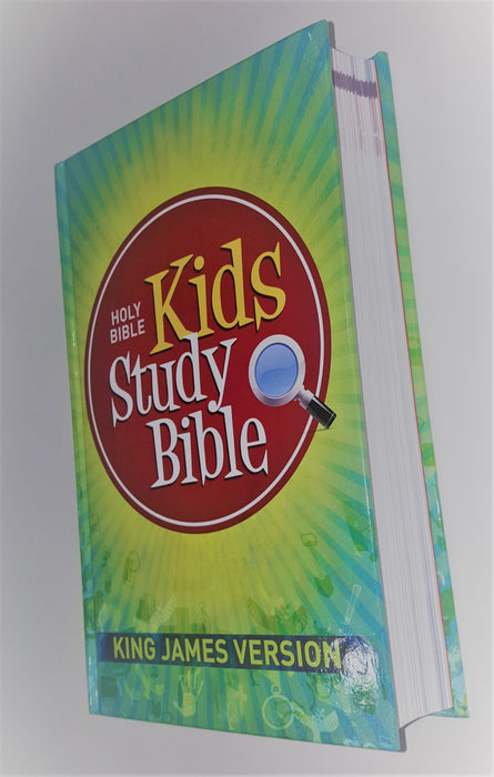 KJV Kids Study Bible (Ages 8-12) - Love the Lord Inc