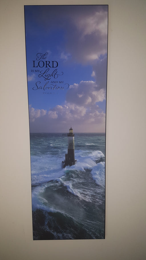 Wall Art - The Lord Is My Light And My Salvation - Love the Lord Inc