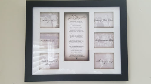 Photo Frame - 50 Years Together - Love the Lord Inc
