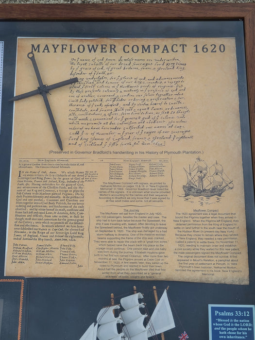 God, The Word, The Mayflower Voyage and America's Beginning - Love the Lord Inc