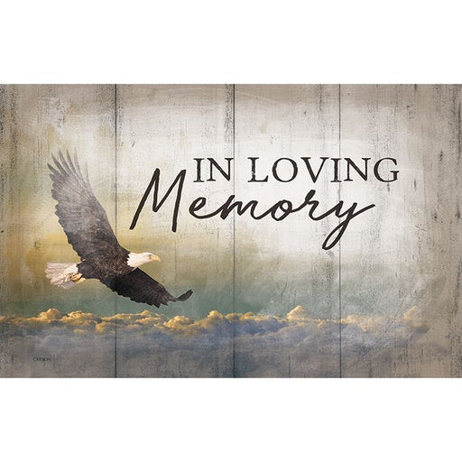 Sign Insert - In Loving Memory - Love the Lord Inc