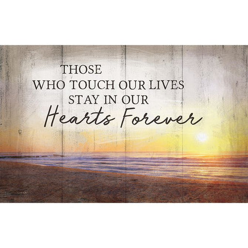 Sign Insert - Those Who Touch Our Lives - Love the Lord Inc