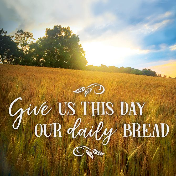 Kitchen Trivets - Our Daily Bread - Love the Lord Inc
