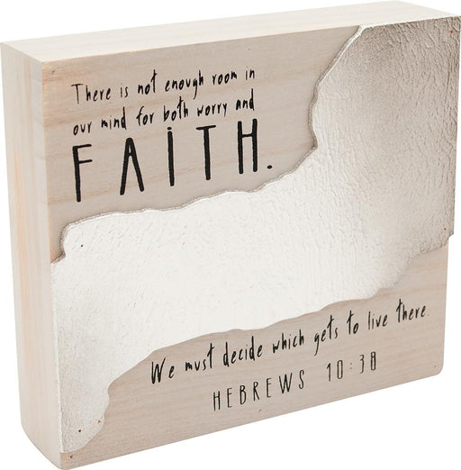 Desktop Block - Worry & Faith - Love the Lord Inc