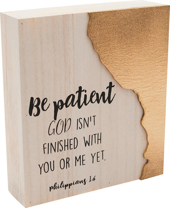 Desktop Block - God Isn't Finished With You Yet - Love the Lord Inc