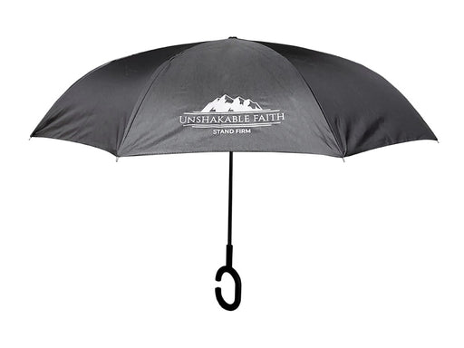 Reversible Umbrella - Unshakable Faith - Love the Lord Inc