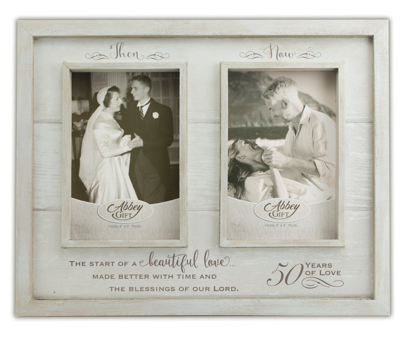 Picture Frame Then And Now 50th Anniversary Frame Love The Lord Inc