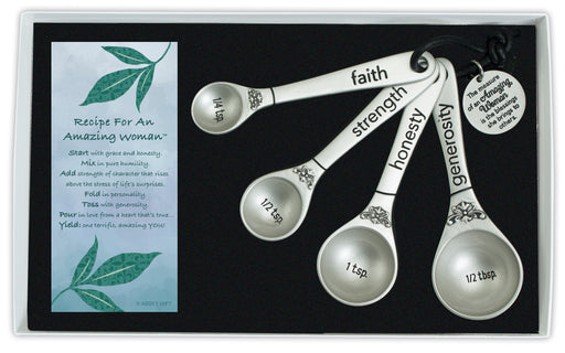 Measuring Spoons - Amazing Woman - Love the Lord Inc
