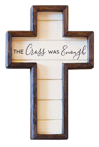 The Cross Was Enough - Cross - Love the Lord Inc