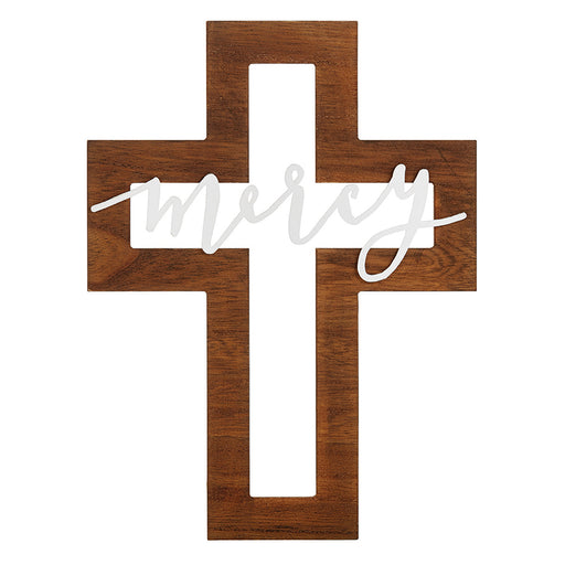 Cross - Mercy Cut-Out Cross - Love the Lord Inc