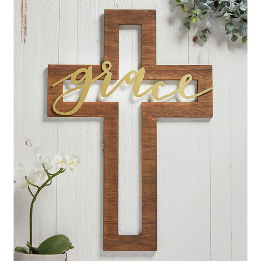 Cross - Grace Cut-Out Cross - Love the Lord Inc
