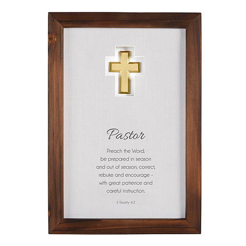 Pastor Appreciation Wall Art: Pastor - Love the Lord Inc