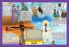 Christian Childrens Placemats - Life Of Jesus - Love the Lord Inc