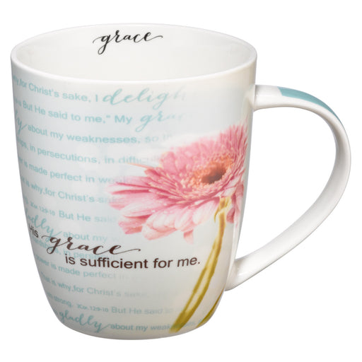 Mug - His Grace Is Sufficient - Love the Lord Inc