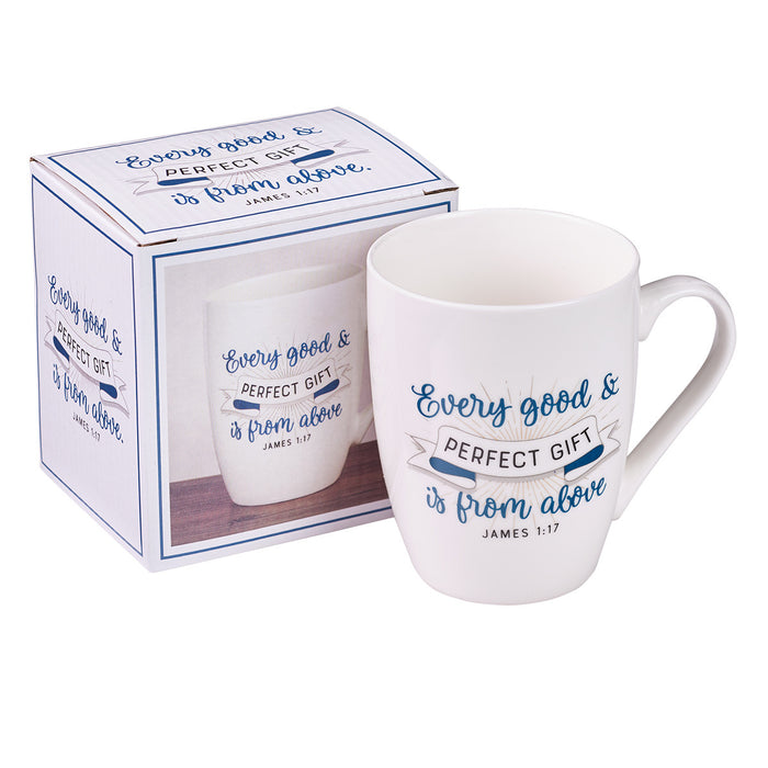 Mug - Good and Perfect Gift - Love the Lord Inc