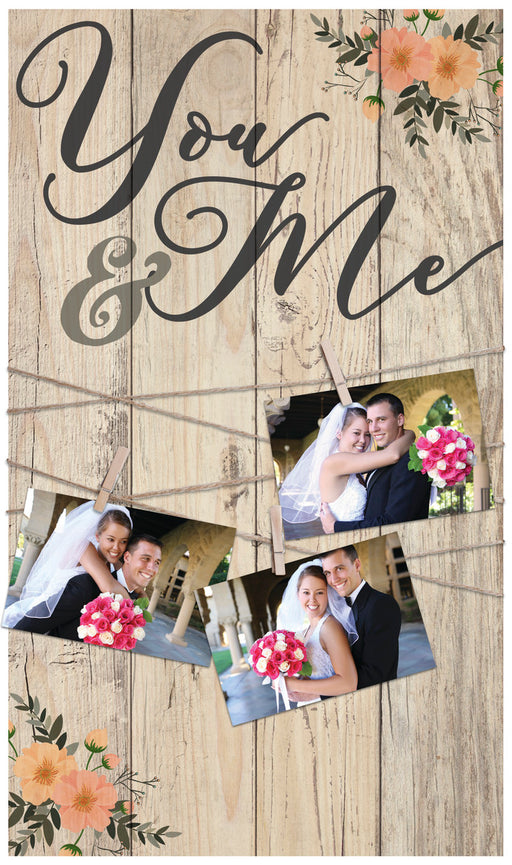 Pallet Picture Frame - You & Me - Love the Lord Inc