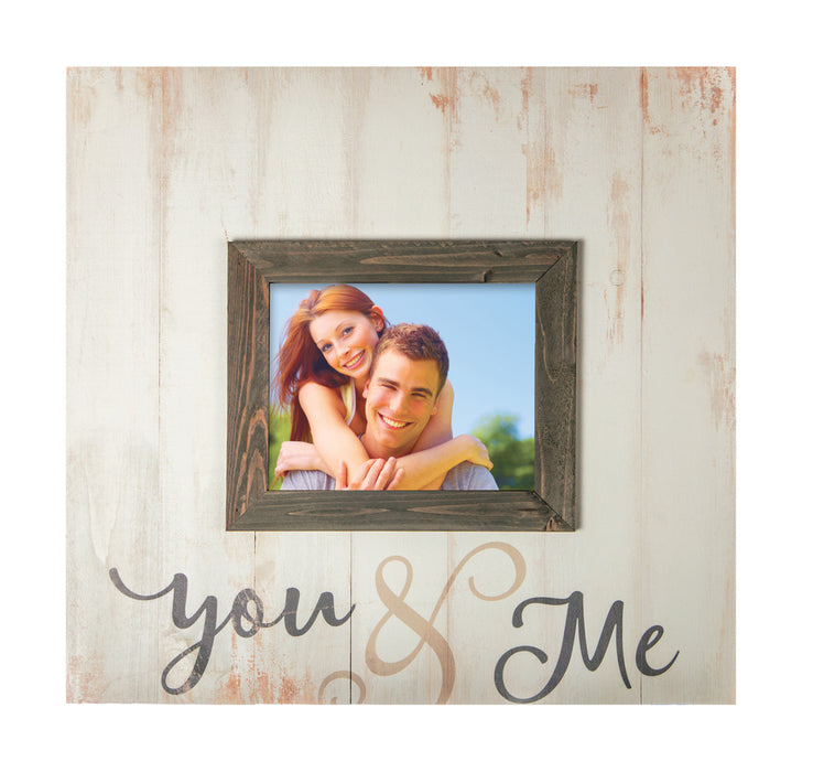 Large Picture Frame - You and Me - Love the Lord Inc