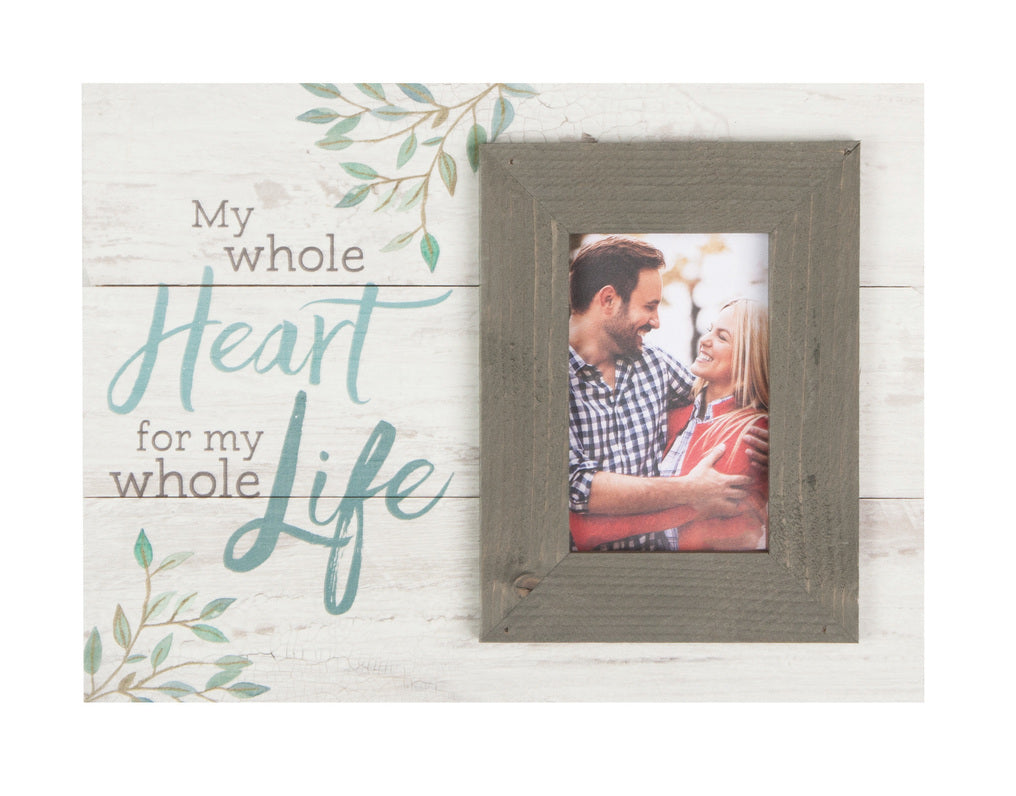 Picture Frame - My Whole Heart, For My Whole Life - Love the Lord Inc