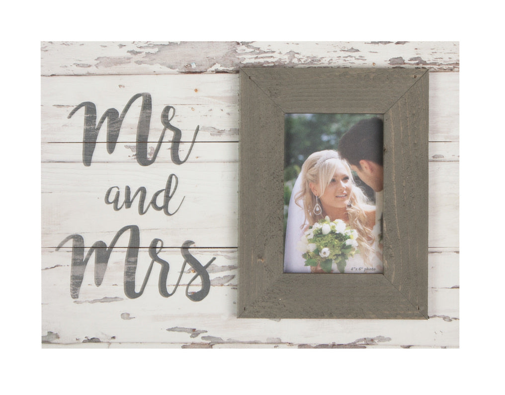 Picture Frame - Mr & Mrs - Love the Lord Inc