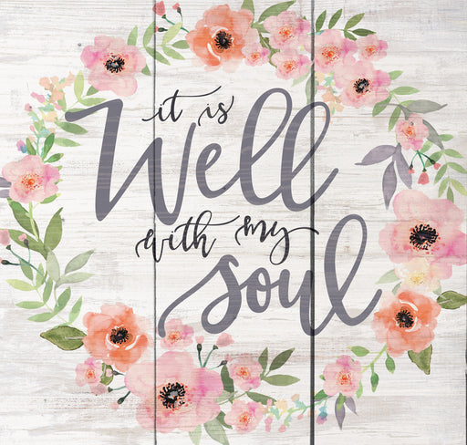 Pallet Decor - It Is Well With My Soul - Love the Lord Inc