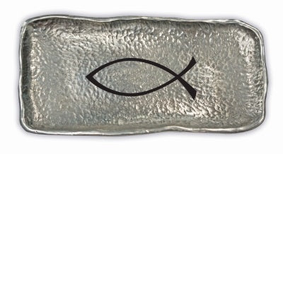 Coin Dish - Christian Fish Symbol (Fishers Of Men) - Love the Lord Inc