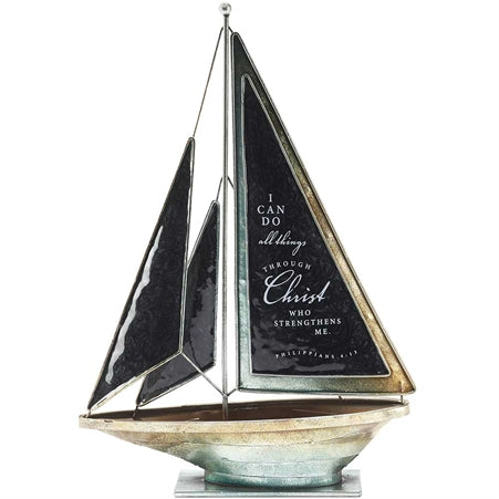 Sailboat - I Can Do All Things Through Christ - Love the Lord Inc