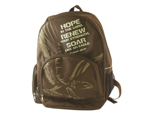 Backpack - Hope, Renew, Soar (Isaiah 40:31) - Love the Lord Inc