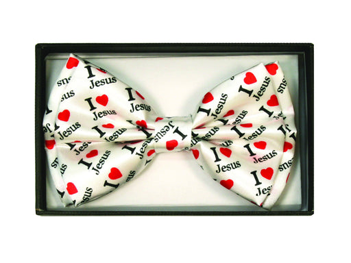 Bow Tie - I Love Jesus - Love the Lord Inc