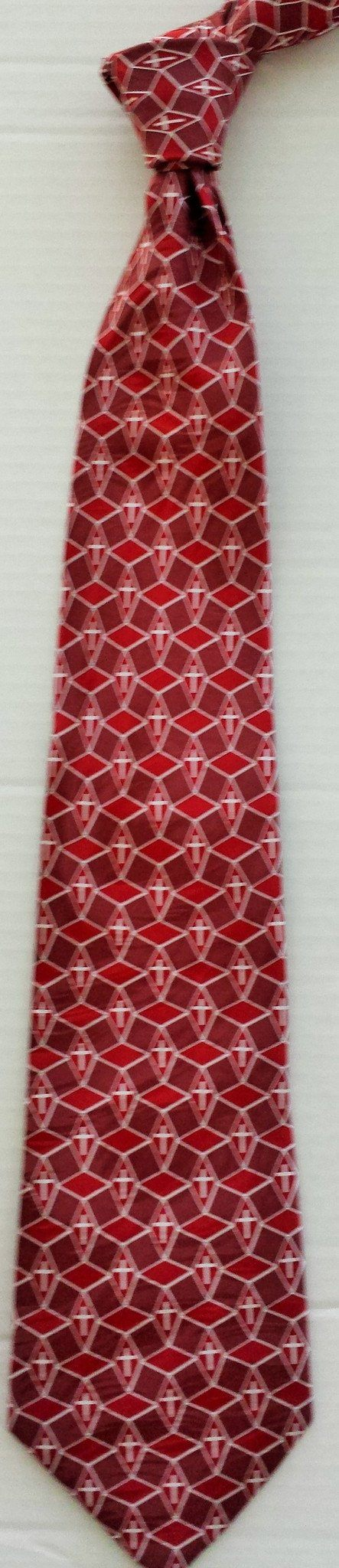 Accessories - BURGUNDY SILK TIE