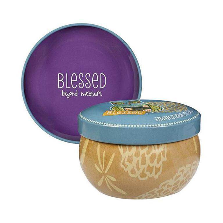 Candle Blessed Beyond Measure Love The Lord Inc