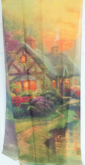 Accessories - Christian Scarf - Give Us Our Daily Bread (Thomas Kinkade Designer Scarf)