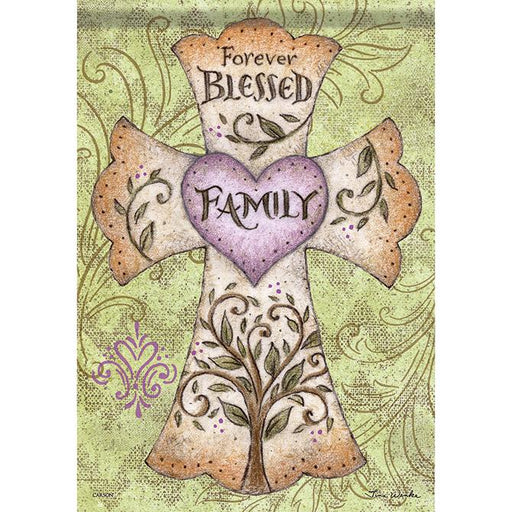 Garden Flag - Forever Blessed Family - Love the Lord Inc