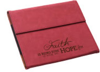 "Accessories - IPad Case - ""Faith Is Being Sure Of What We Hope For"""
