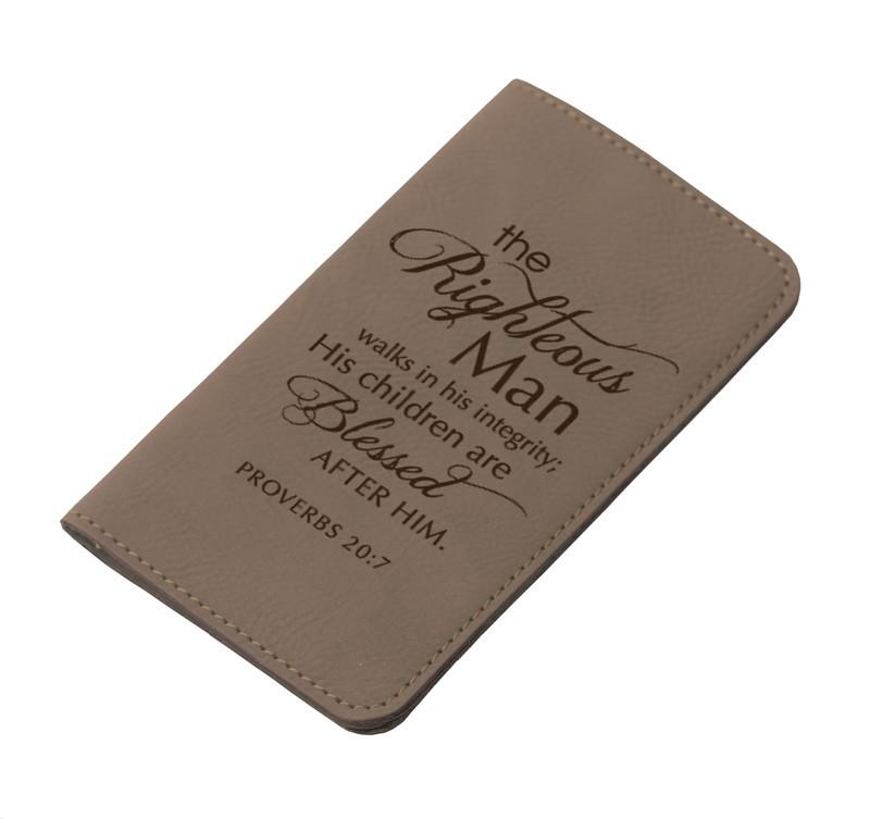 IPhone Wallet - The Righteous Man - Love the Lord Inc