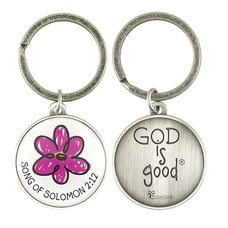 Keychain - God Is Good - Love the Lord Inc