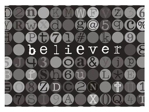 Laptop Skin - Believer - Love the Lord Inc
