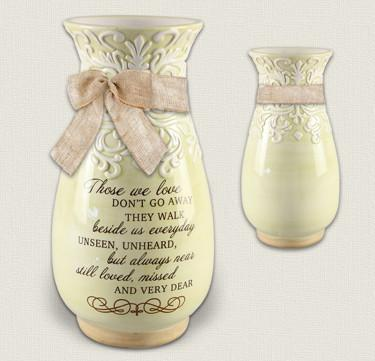Accessories - Memory Vase - Loved, Missed And Very Dear