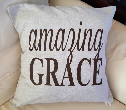 Pillow - Amazing Grace - Love the Lord Inc