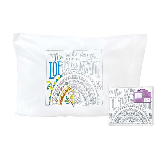 Pillow Case - This Is The Day The Lord Has Made (Color In) - Love the Lord Inc